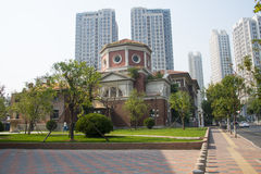 Asia China, Tianjin Italian style street Stock Photography
