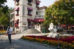 Asia China, Tianjin Italian style street Royalty Free Stock Image