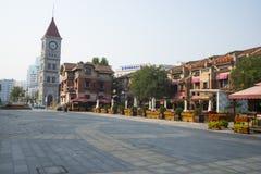Asia China, Tianjin Italian style street Stock Photos