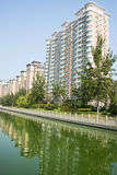 Asia China, Tianjin, Wuqing, urban residential area Stock Images