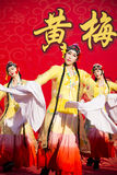 Asia China, traditional Chinese Opera Dance Royalty Free Stock Photos