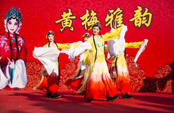 Asia China, traditional Chinese Opera Dance Royalty Free Stock Image