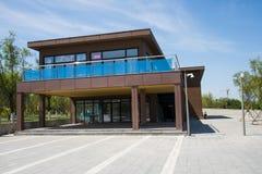 Asia China, Wuqing, Tianjin, expo verde, arquitectura del jardín, sala de exposiciones Foto de archivo