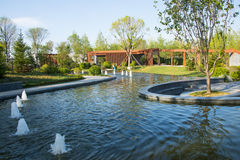 Asia China, Wuqing, Tianjin, Green Expo, park scenery Royalty Free Stock Photos
