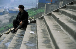 ASIA CHINA YANGZI RIVER Stock Photography