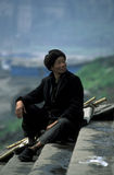 ASIA CHINA YANGZI RIVER Stock Images