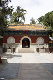Asia, Chinese, Beijing, Beihai Park, Temple Mountain Gate. Asia, China, Beijing, Beihai Park, Temple Mountain Gate, ancient architecture, the environment elegant Royalty Free Stock Photo