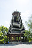 Asia Chinese, Beijing, China Minzu Yuan, architectural landscape,Drum-tower Stock Photos