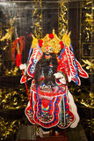Asia Chinese, Beijing, Chinese Art Museum, indoor exhibition hall, puppet,Chinese traditional opera characters Stock Photography