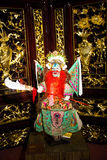 Asia Chinese, Beijing, Chinese Art Museum, indoor exhibition hall, puppet,Chinese traditional opera characters Stock Photo