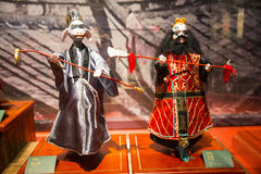 Asia Chinese, Beijing, Chinese Art Museum, indoor exhibition hall, puppet,Chinese The traditional myth figures Stock Photo
