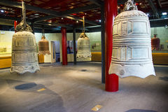 Asia Chinese, Beijing, Dazhongsi Ancient Bell Museum,Indoor exhibition, Royalty Free Stock Images