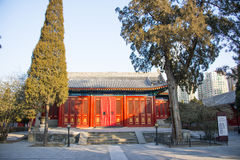 Asia Chinese, Beijing, Dazhongsi Ancient Bell Museum,Classical architecture Stock Photos