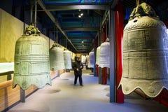 Asia Chinese, Beijing, Dazhongsi Ancient Bell Museum,Indoor exhibition, Stock Image