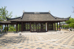 Asia Chinese, Beijing, Garden Expo,Landscape architecture, pavilion Gallery Stock Photo