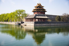 Asia Chinese, Beijing, the Imperial Palace, Jiaolou Stock Photo