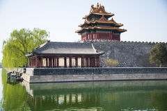 Asia Chinese, Beijing, the Imperial Palace, Jiaolou Royalty Free Stock Photos