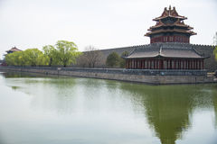 Asia Chinese, Beijing, the Imperial Palace, Jiaolou Stock Photos