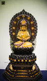 Asia Chinese, Beijing, National Museum, Contemporary Art Biennale, Guanyin buddha Royalty Free Stock Photography