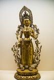 Asia Chinese, Beijing, National Museum, Contemporary Art Biennale, Guanyin Buddha Stock Photography