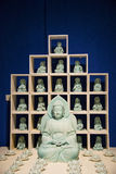 Asia Chinese, Beijing, National Museum, Contemporary Art Biennale,Porcelain plastic, Buddha Stock Images
