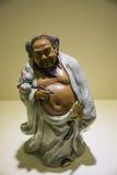 Asia Chinese, Beijing, National Museum, Contemporary Art Biennale, pottery, Han Zhongli Stock Photo