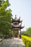 Asia Chinese, Beijing, North Palace, Forest Park, Garden architecture, lan cui Pavilion Royalty Free Stock Image