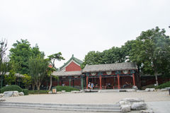 Asia Chinese, Beijing, Shichahai Scenic, Asia China, Beijing, Shichahai Scenic, pavilion, Gallery Stock Photos