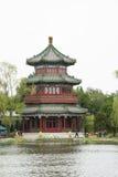 Asia Chinese, Beijing, Shichahai scenic,Lakeview, wanghailou Stock Photos
