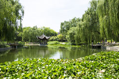 Asia Chinese, Beijing, Taoranting  Park, Garden scenery. Asia China, Beijing, Taoranting Park, modern gardens, beautiful scenery, ancient buildings Royalty Free Stock Images
