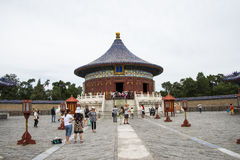 Asia Chinese, Beijing, Tiantan Park, garden building, imperial vault of heaven Stock Photo