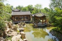 Asia Chinese, Beijing, Yu Garden,Classical garden architecture,Courtyard Royalty Free Stock Photos