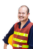 Asia construction worker Stock Images