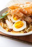 Asia cuisine lontong ketupat rice cake Royalty Free Stock Photos