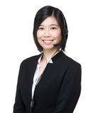 Asia customer services representative Royalty Free Stock Image