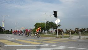 Asia Cycling Championships 2012 stock footage