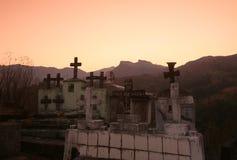 ASIA EAST TIMOR TIMOR LESTE MOUBISSE GRAVEYARD Royalty Free Stock Images