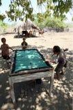 ASIA EAST TIMOR TIMOR LESTE VILLAGE BILLARD Stock Image