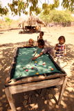 ASIA EAST TIMOR TIMOR LESTE VILLAGE BILLARD Stock Photos