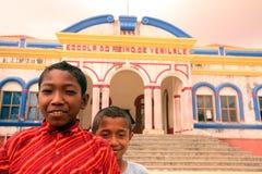 ASIA EAST TIMOR TIMOR LESTE VIQUEQUE SCHOOL Royalty Free Stock Image