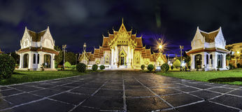 Asia, el templo de mármol (Wat Benchamabophit), Bangkok, Tailandia Imagen de archivo