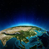 Asia. Elements of this image furnished by NASA stock illustration