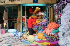 Free Asia Fabric Market Royalty Free Stock Photography - 48617737