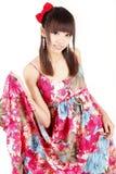 Asia fashion girl Stock Photography