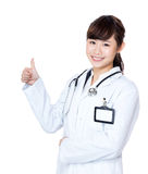 Asia female doctor Stock Photography