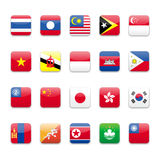 Asia flag a Royalty Free Stock Photography