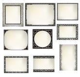 Asia frame window. Design element Royalty Free Stock Photos