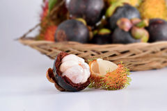 Asia fruits Royalty Free Stock Images