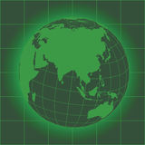 Asia green Royalty Free Stock Photo