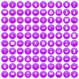 100 Asia icons set purple. 100 Asia icons set in purple circle isolated on white vector illustration vector illustration